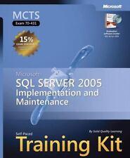 MCTS Self-Paced Training Kit (Exam 70-431): Microsoft SQL Server