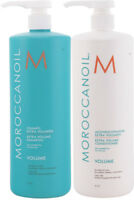 Moroccan Oil Extra Volume Shampoo & Conditioner Set Liter Duo's 33.8oz