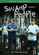 SWAMP PEOPLE : COMPLETE SEASON 7  - DVD - UK Compatible  - Sealed