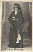 Protestant Reform Movement - Helen Jackson Social History Toledo OH PC/Card