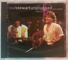 ROD STEWART - UNPLUGGED...AND SEATED (CD, 1993 - USA - Warner Bros) Very Good!!!