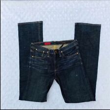 AG Adriano Goldschmied Women size 28 The Prestige Jeans Mid rise Distressed