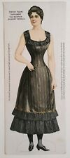 Boston Herald Lady Newspaper Supplement Paper Doll 1895 Original Antique Uncut