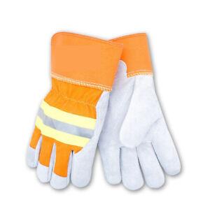 Schnittschutzhandschuhe Gr.9 Benzin Kettensäge Forstschutz handschuhe NEW