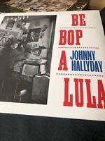 Johnny HALLYDAY - Be Bop A Lula (reissue) VINYL LP - NEW SEALED Rockabilly