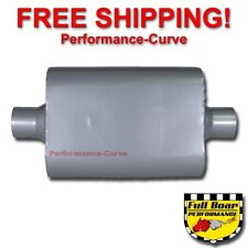 "2 Chamber Performance Muffler FULL BOAR 2.5"" Center / Center FB2540"