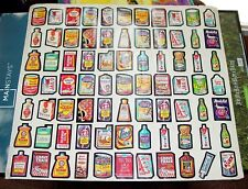 RARE EARLY 1970'S WACKY PACKAGES MAIL ORDER WALL POSTER&1979 SERIES 1 HALF SHEET