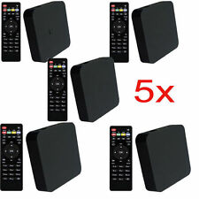 Lot 5 MXQ-4K Amlogic S805 Android   Quad Core WiFi 1G/8GB Smart TV Box Set