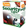 Solar Powered Security Light, motion sensor activated, LED bulbs, weatherproof