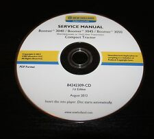 NEW HOLLAND BOOMER 3040 3045 3050 COMPACT TRACTOR SERVICE REPAIR MANUAL