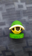 Super Mario Chess Green Shell Pawn Replacement Piece Cake Topper Nintendo