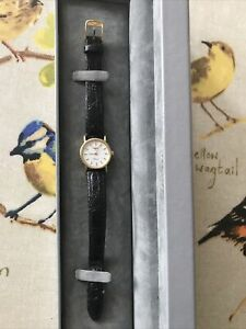 Longines Presence 9ct Gold Ladies Watch With Genuine Longines Strap And Buckle.