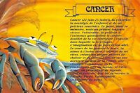 Carte Postale Signe du ZODIAC, CANCER - Illustré par Catherine SCHMID