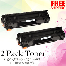 2 pk 125 Toner Cartridge for Canon ImageClass LBP6000 LBP6030w MF3010 Printer