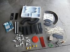 Vtg Aurora Model Motoring Slot Car Set 48 Pc Track Curved Straight W/Accessories