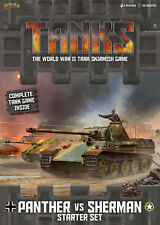 Gale Force Nine NUOVO CON SCATOLA CARRI ARMATI Starter Set-PANTERA VS Sherman gfntanks 01
