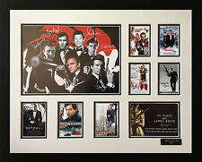 JAMES BOND 007 50 YEAR ANNIVERSARY SIGNED LIMITED EDITION FRAMED MEMORABILIA