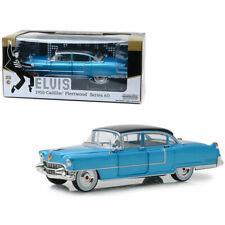 Elvis Presley - Blue 1955 Cadillac Fleetwood Series 60 - GREENLIGHT - 1:24