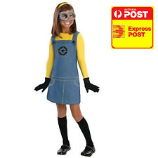 MINION DESPICABLE ME 2 FEMALE, CHILD S 3-5Y