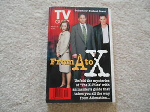 TV GUIDE X FILES May 17-23 1997 with Collector's Fold Out Cover   Brand New