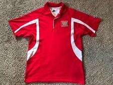 Chip Ganassi Honda Indy Racing Men's Dri-Fit Polyester Polo Shirt Red Mens Sz M