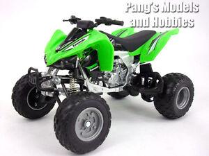 Kawasaki KFX 450R ATV (Quad Bike) 1/12 Scale Diecast Metal and Plastic Model