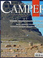 Caravan e Camper 2016 474 marzo#Islanda, assolutamente da vedere,qqq