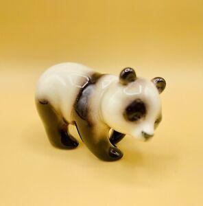 "Vintage Goebel W Germany Porcelain Panda Bear Figurine 3"""