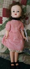 """17"""" Doll Bodies Inc Ny Walker Doll Hard Plastic Open Mouth Teeth Outfit 1950'S"""