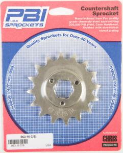 PBI Steel Front Sprocket 16T Suzuki DR650SE 1996-2008 663-16 50-66316