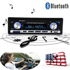 Bluetooth Car Stereo Audio FM Radio Auto Aux Receiver SD USB MP3 Player With Mic