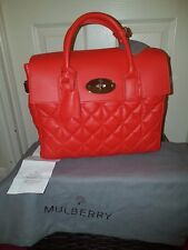 81e97d7392e8 Mulberry Cara Delevingne Quilted Leather Handbag 3 in 1 Medium. Dustbag  Receipt
