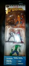 2017 Jada Toys/Marvel- Spiderman Nano Metal Figs Pack A