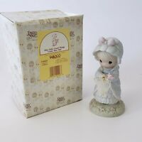 """Enesco Precious Moments 1990 """"May Only Good Things Come Your Way"""" #524425 w/box"""