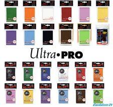 ULTRA PRO 50 Card Sleeves Kartenhüllen - Karten Hüllen Standard + Pro Matte PKM