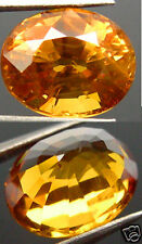 Natural Ceylon Yellow Sapphire Facet Gemstone 1.40Ct