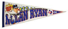 1989-93 Nolan Ryan Texas Heat Texas Rangers Full Size Pennant