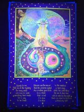 "Petagno III Magic Forest Blacklight Poster 22/"" x 24/"" 1972 Saladin Productions"