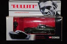 CORGI CC05901 BULLITT 1968 FORD MUSTANG DIECAST MODEL CAR + STEVE MCQUEEN FIGURE