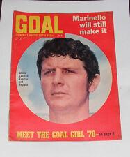 GOAL FOOTBALL MAGAZINE NO.103 JULY 25TH 1970 - BOB WILSON OF ARSENAL