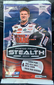 Press Pass Stealth 2011 Nascar Trading Card Sealed Pack