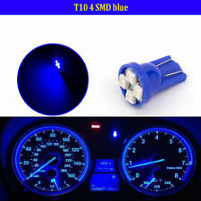 10pcs Yellow T10 W5W 194 2825 4SMD LED Wedge Dashboard Gauge Cluster Light Bulb