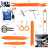 Car Panel Removal Open Pry Tools Kit Radio Trim Repair Kit with PDR Pump Wedge