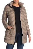 Michael Kors Women's Jacket Gray Size XS Puffer Down Packable Zipped $220 #274