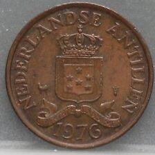 Nederlandse Antillen  Netherlands Antilles -  2 1/2 cent 1976