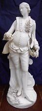 Antique Paris Porcelain Figure Pierre Charles Tinet Montreuil Sous Bois H 46cm