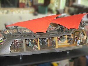 Star Wars Haslab Jabba's Sail Barge The Khetanna w Yak Face Vintage Collection