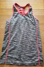 WOMENS FEATHERS MATERNITY WORK OUT EXERCISE YOGA TOP-OSFA- RACER BACK