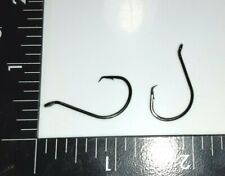 100 Size #1/0 Circle Hooks Black Nickel High Carbon Sport Octopus 2X STRONG FREE