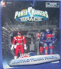 """Power Rangers in Space Red Lightstar Power Ranger and 5"""" Astro Megazord New"""